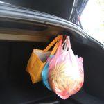Model 3 Grocery Bag Trunk Hook